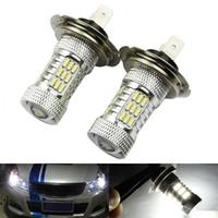 h7 super white - 2 X H7 W CREE LED Fog Tail Driving Car Head Light Lamp Bulb White Super Bright