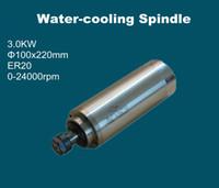 Wholesale Carving milling ER20 motor spindle kw Diameter mm Built in bearings V V