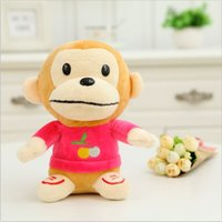 bear factory clothes - Hot Monkey with Clothe and CM Length Baby Toys Plush Toy for Kids Gifts Factory Price SY104B
