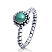 Wholesale Wholeasle Sterling Silver Virgo Birthstone Ring European Fine Jewelry Rings For Women Birthday wedding Anniversary Gift