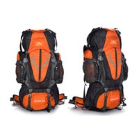 Wholesale 2016 Outdoor Climbing Bags Unisex Oxford Sports Waterproof Hiking Travel Camping Mountaineering Climbing Backpack Bag L