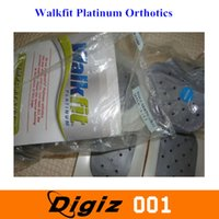 Wholesale 2014 New Walking fit Platinum Orthotics Insole Multiple Therapy and Massager Insoles C D E F G Size Pair