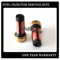 Wholesale DHL Red Color Fuel Injector Service Repair Micro Filters Size mm Basket Filter Micro Kits For Fuel Nozzle