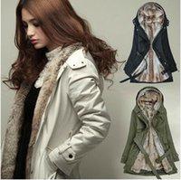 Wholesale 2016 Winter Korean Clothes for Women Coats Women s Warm Thick Female Woolen Coat Long Section Cashmere Coat Cheap Chinese Coats