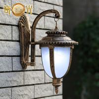 big goals - Continental outdoor lights wall lamp waterproof outdoor garden lights big game fishing big goal post W2215