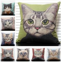 Wholesale 2014 colors good quality cotton cat pillow Meow star people Creative pillow cushion Back squab cushion office nap pillow topB488