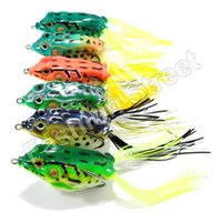 3d lure eyes - Fishing Tackle D Eyes Soft Fishing Frog Lure Crankbait Hooks Baits g cm