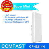 access point amplifier - Comfast Wireless outdoor wifi CPE CF E214N WIFI signal booster Amplifier dBi Antenna with POE wi fi access point CPE bridge