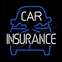 Wholesale 22X17 quot CAR INSURANCE NEON Custom LOGO Neon Light Sign Store Display Beer Bar NEON SIGNS LIGHTS Light Sign Corona
