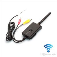 Wholesale 2015 New Arrival Remote WIFI FPV Transmitter Car Rear remote wifi Wireless View Camera for iphone iPad Android