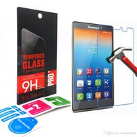 Cheap Wholesale  0.33mm 9H Tempered Glass Screen Protectors Anti-Scratch Explosion proof Protective Film Guard For Lenovo K900 Retail box