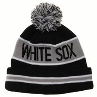 Wholesale Popular Chicago Beanie White Sox Beanies Hats New Design Team Hats Various Patterns Sports Cap Fashion Beanies Hats Hot Selling Beanies