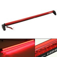 Wholesale Universal Red LED Car Third Brake Light Rear Tail Light High Mount Stop Lamp V order lt no tracking