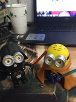 Wholesale 2016 Despicable Me Minions Star War Style Blade Warrior inch Pvc Action Figure Doll Toys Kids Gift Hot Sale set E124L