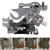 babylock sewing machine feet - 2015 Good Quality Generic Sewing Machine Ruffler Presser Foot for Brother Babylock White Low Shank