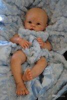 "Unisex 5-7 Years Vinyl Wholesale-Reborn Baby doll kit Silicone Vinyl head 3 4 arms full legs for 20-22"" baby dolls lifelike dolls parts SAME AS KRISTA"