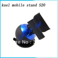 Wholesale 100pcs For iPhone SGP Kuel ball mobile stand S20 Universal Car Mount Holder DHL