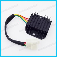 Cheap 4 Wire Male Plug Voltage Regulator Rectifier For GY6 Moped Scooter Motorcycle ATV Quad Dirt Bike order<$18no track
