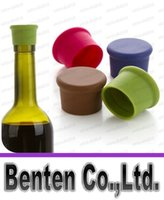 beer flavored - candy colored food grade silicone bottle stopper plug Wine fresh wine flavored beer bottle LLFA4669F