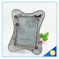 glass photo frame - Modern Wedding Gifts Glass Photo Frame