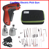 cordless tool sets - New Cordless Electric Pick Gun Rechargeable Full Set Locksmith Tool High Performance