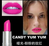 brand lip stick - Top Quality Brand makeup MATTE LIPSTICK ROUGE A LEVRES G lip stick different color New Year Gifts