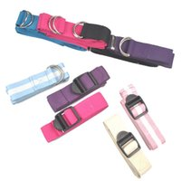 Wholesale 50 hasp cotton stretch with plastic buckle with cotton yoga auxiliary pull on the rope
