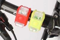 Lampe de lumière en silicone Frog Bike Light sécurité Vélos Cyclisme rayon de roue Lampe LED Silicone Mountain Bike Wheel Lumière bateau libre