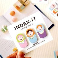 Wholesale 2014 New Convenient Bookmark for Reading Lovely Kids Body Shape Bookmark Energy Saving Paper Bookmark