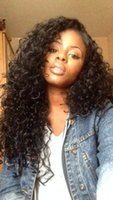 lace wigs for african american - 7A Malaysian Curly Full Lace Wig With Baby Hair Unprocessed Human Hair Wigs Glueless Front Lace Wig for African Americans