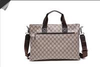 Wholesale Briefcases Single Shoulder Tote Bag computer bag