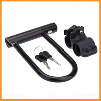 Wholesale Heavy Duty Mountain Road Cycling Bike Bicycle Motorcycle Scooter MTB Guard Anti theft Security U Lock with Bracket Key