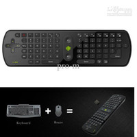 Wholesale RC11 Android Wireless Keyboard Air Mouse Remote Controller With Gyroscope for TV box