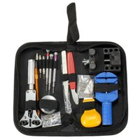 Wholesale Hot sale Hot Sale New Watch Repair Tool Kit Case Opener Link Remover Spring Bar Carrying Case