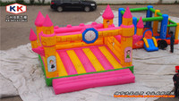 Wholesale amusement park equipment Inflatable bouncer castle Residential EN14960 PVC inflatable jumping bouncer for children
