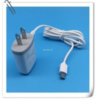 Wholesale Wholesales US Plug AC Wall Wire Charger Travel Adapter with Micro USB V8 Cable For Samsung Galaxy S2 S3 S4