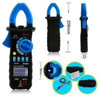 auto ac tools - TURE RMS AUTO RANGE DIGITAL AC DC CLAMP METER WITH BACKLIGHT CLAMP LIGHT CAP HZ INRUSH Electronic Professional Tools