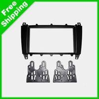 Wholesale Car DVD CD Radio Stereo Fascia Panel Frame Adaptor Fitting Kit For Mercedes Benz C Class