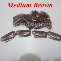 Wholesale Hair extension clips cm with teeth hair extensions tools for hair products wigs weft colors