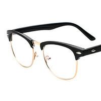 venda por atacado sunglasses in china-2016 nova chegada óculos de sol retro meia-armação china estrela mesmo estilo de moda moderno óculos de prata metálica para mulheres homens 011
