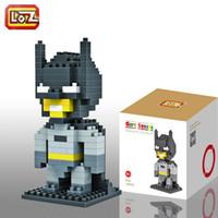 Wholesale Super Heroes Blocks Batman etc Diamond Blocks LOZ Batman Small Blocks Toys Good Holiday Present for Children LOZ