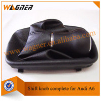 audi shift boot - WAGNER Hot Sale Car Gear Shift Knob Gear with leather boot for Audi A6 C5
