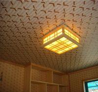 bamboo paper straws - Artshow Chinese Style Imitation Bamboo Weaving D Vinyl Wall Paper For Ceiling Studing Room KTV Living room Decor Wallpaper