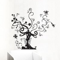 beautiful sofa - bedroom decoration Substantial Tengman living room sofa backdrop wall TV backdrop bedroom wall stickers flower vine beautiful DM69