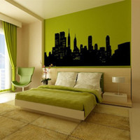 art destinations - Wall Decal New York City NYC Skyline Cityscape Travel Vacation Destination x28inch
