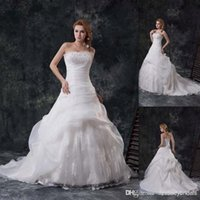 Cheap A-Line Demetrios Wedding Gowns Best Model Pictures Strapless 2015 Wedding Dresses