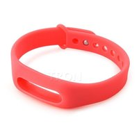 Wholesale band sweatshirt Replacement MI Band Strap Wearable Wrist Band For Xiaomi MI Band Bluetooth Smart Bracelet various color