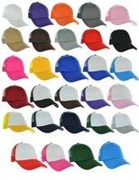 trucker mesh foam cap - Summer Trucker Mesh Foam Baseball Cap Adjustable Snap back Hat