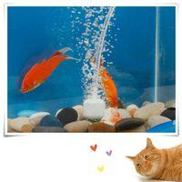 Wholesale 2015 New Aquarium Bubble Air Stone Fish Tank Pump Hydroponics Aerator Diffuser quot