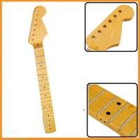 Wholesale Brand New Frets Electric Maple Guitar Neck Replacement Fingerboard for ST Guitar musical instruments Accessories